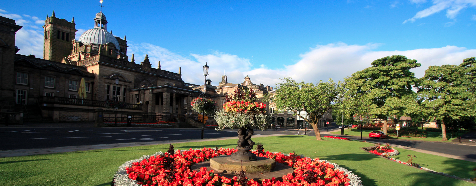 Harrogate Crescent Gardens And Turkish Baths Opposite Harrogate Lifestyle  Serviced Apartments