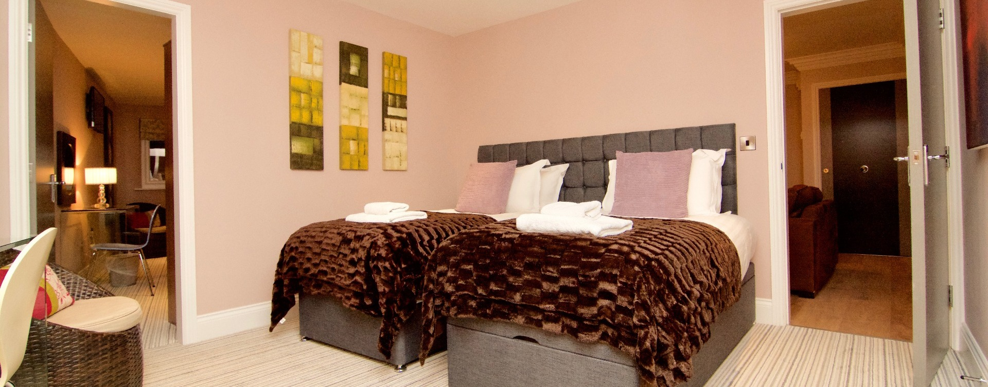 Cheap hotels in Harrogate or serviced apartments