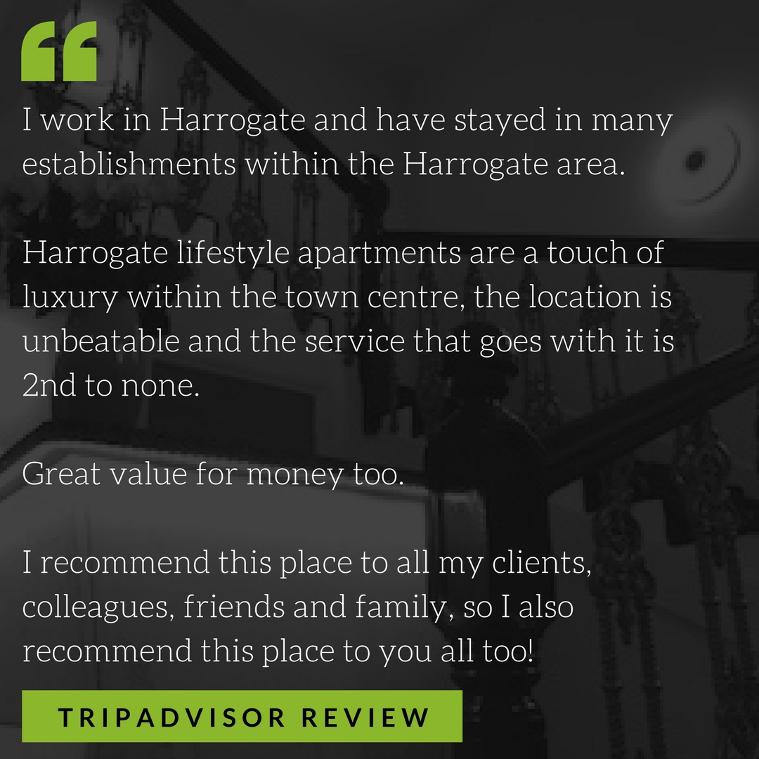 Harrogate lifestyle apartments are a touch of luxury within the town centre