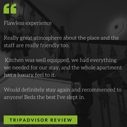 review of harrogate lifestyle apartments Flawless experience