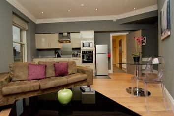 living room open plan apartment harrogate