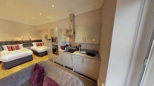 Harrogate Lifestyle Apartments Studio apartment to rent in Harrogate town centre Kings Road