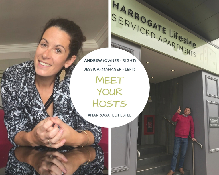 Meet your hosts at Harrogate Lifestyle Apartments - Jessica and Andrew