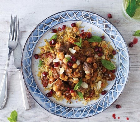 Morocan Spiced Lamb Tagine GLUTEN FREE and DAIRY FREE 580g + minted couscous 380g SERVES 2